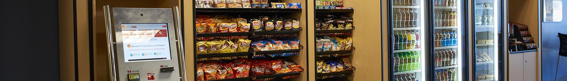 CL Vending's self-checkout markets