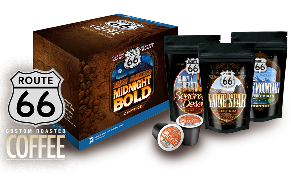 Route 66 Coffee Bold Midnight