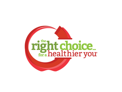 The Right Choice for a Healthier You logo