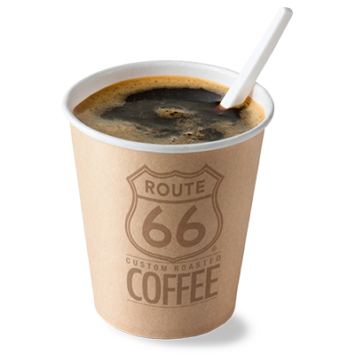 Route 66 Coffee at Work