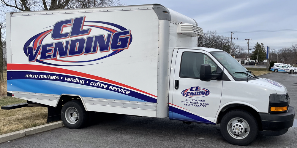 CL Vending Truck Serving NW Indiana and NE Illinois